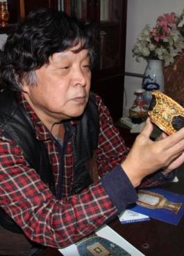 """承载,继而创新,实现中国梦 专访中国非物质文化遗产""""花丝镶嵌第一人""""王树文"""
