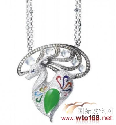 【珠宝首饰】七彩云南:绝美的动物翡翠珠宝饰品