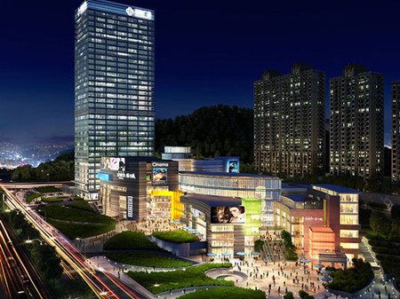 济南中海环宇城以310万平方米的中海国际社区