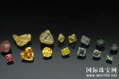 克徕帝解密钻石原石的神秘色彩