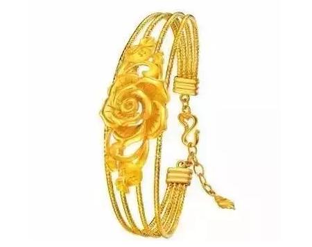 龙花纹戒指戴法