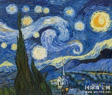罗曼蒂珠宝·《星空》| 梵高眼中的星空究竟有多美?