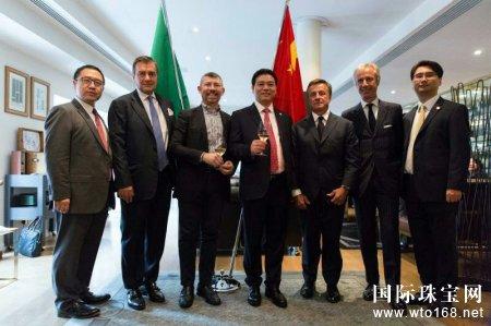 刚泰集团与国际知名奢侈品牌股权交割仪式举行