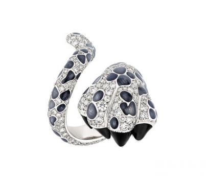 蠢萌动物遇上珠宝 这些组合你认得出几个?