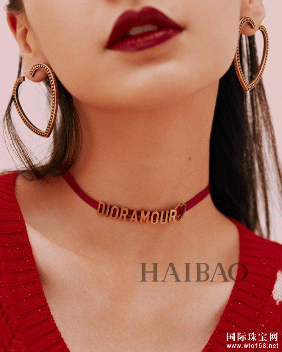 迪奥 (Dior) 中国区品牌大使Angelababy甜美演绎Dioramour七夕限定系列宣传大片