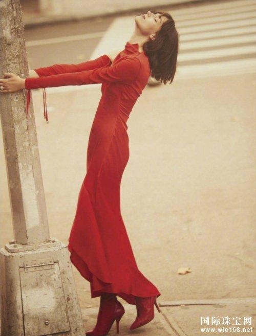 清纯女王时尚街拍 静谧优雅美好大方