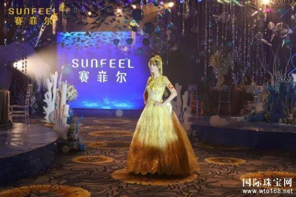 赛菲尔珠宝与曼可婚礼跨界合作,万足金婚纱惊艳压轴,备受赞誉