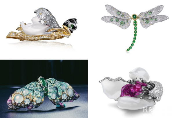 中国新锐玉石雕刻高级珠宝首饰设计师马瑞2017上海时尚周秀演发布新款