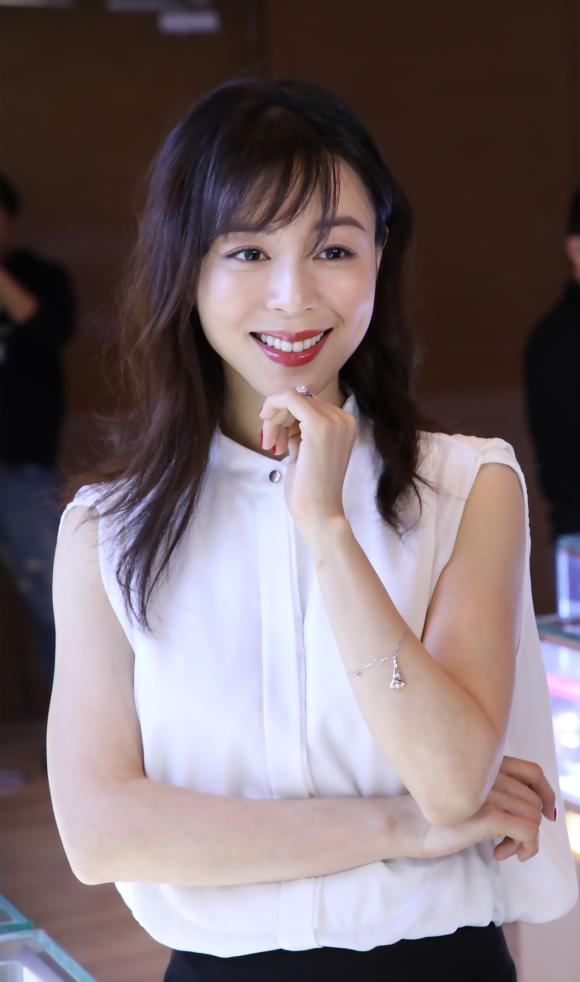 """最牛婚戒MLE携手张静初 发布""""爱如初见""""新款"""
