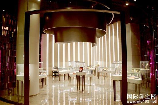 金一文化大规模综合体珠宝展厅正式对外开放