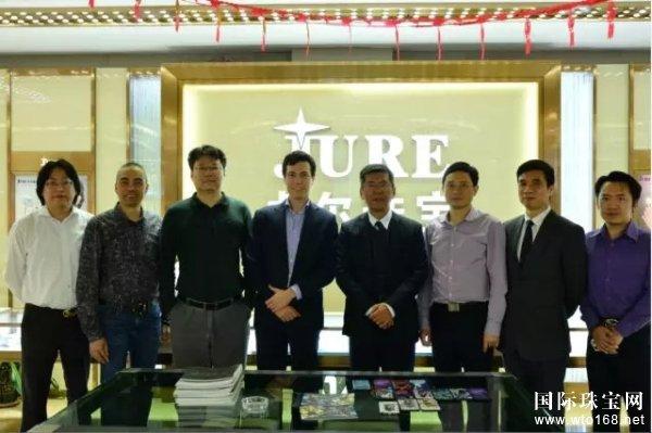 比利时驻广州总领事馆官员赴卓尔珠宝考察