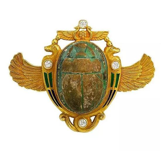 圣甲虫形珠宝饰物