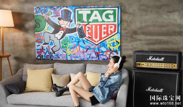 泰格豪雅 (TAG Heuer) 携手全球品牌大使Angelababy倾情演绎F1 系列女士腕表