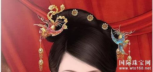 古代女子头上的那些珠宝首饰