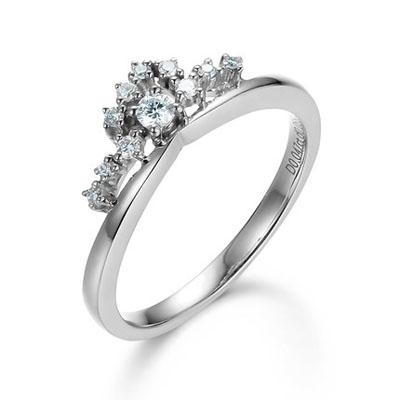 缠意款钻石戒指