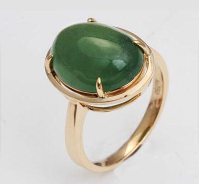 佳得兴珠宝—翡翠镶嵌戒指