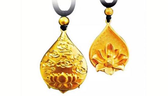 英皇珠宝《古艺传金·莲》系列,英皇珠宝