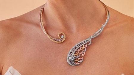 力拓,手工制作首饰,钻石和黄金制成