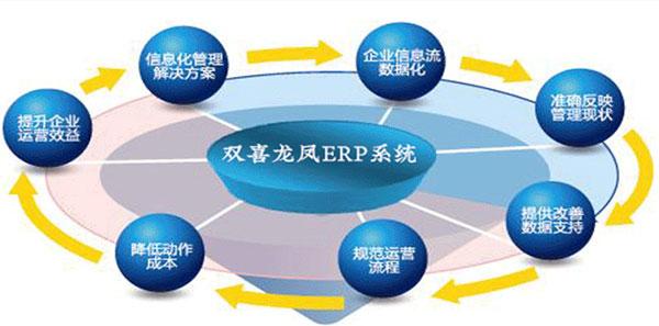 双喜龙凤高效珠宝ERP系统