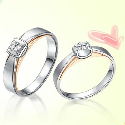爱的甜美钻石戒指