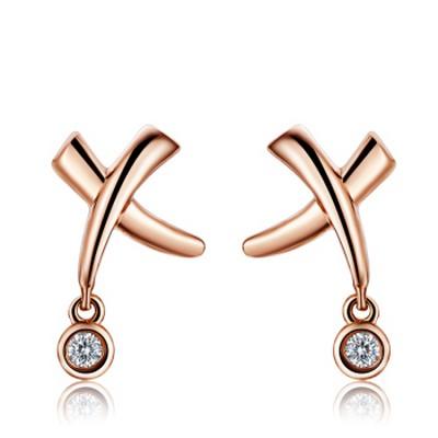 可爱小清新钻石耳环