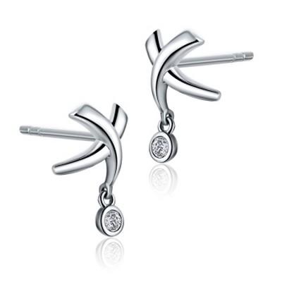 金象珠宝|简尚钻石耳