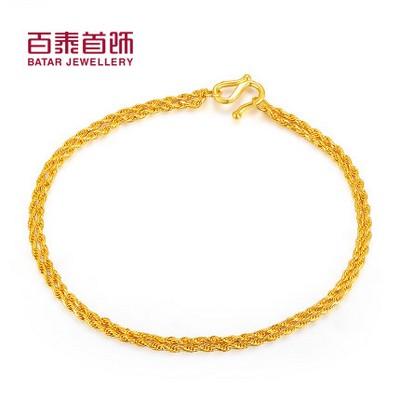 动情黄金手链