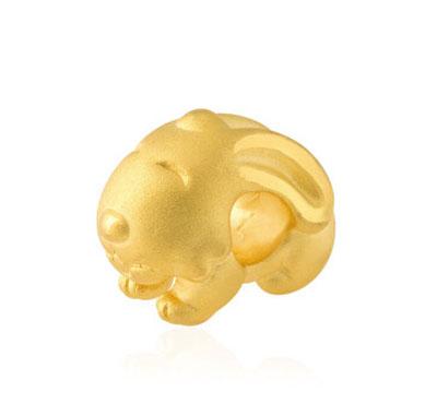 中国黄金-生肖兔黄金