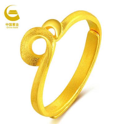 中国黄金-旋回黄金戒