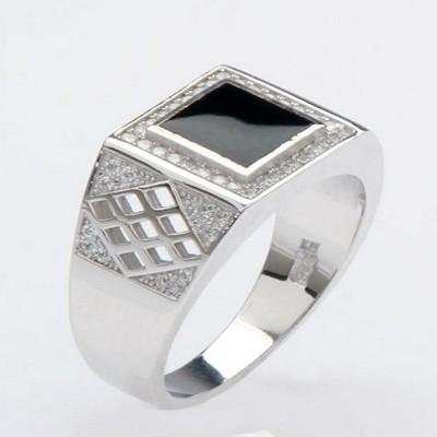 王者至尊银饰戒指