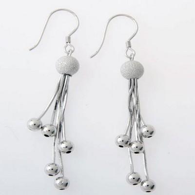 幸福银饰耳环