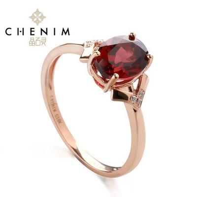 唯爱红宝石戒指
