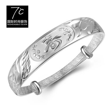 7度银饰-富贵龙凤献寿