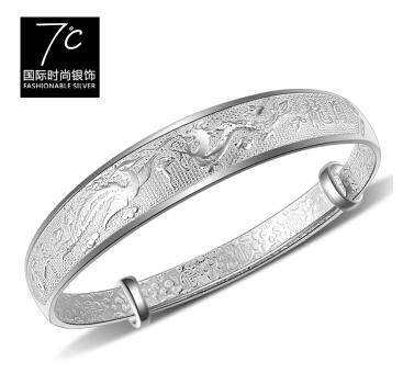 7度银饰-百年龙凤呈祥