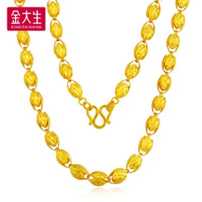 爱的缠绵黄金项链