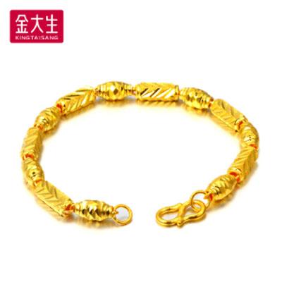 橄榄珠黄金手链