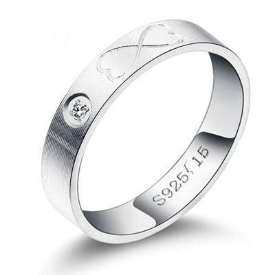 爱的约定银饰戒指