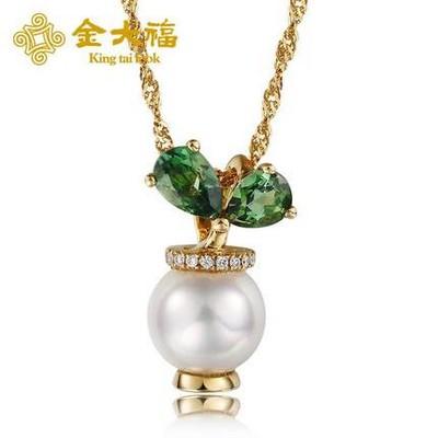 秘密花园珍珠吊坠