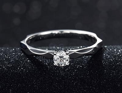 金大福|星空白金钻石