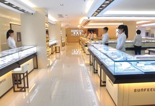 赛菲尔珠宝深圳展厅