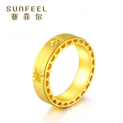 年轮情侣对戒指圈