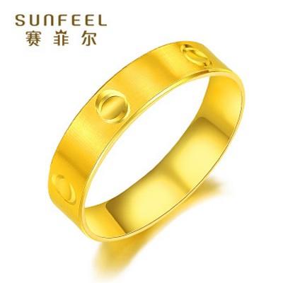 时代黄金戒指