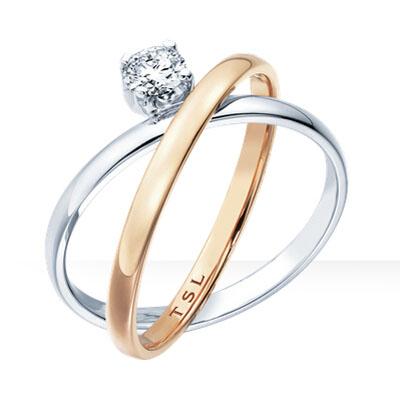 谢瑞麟-心炫钻石戒指