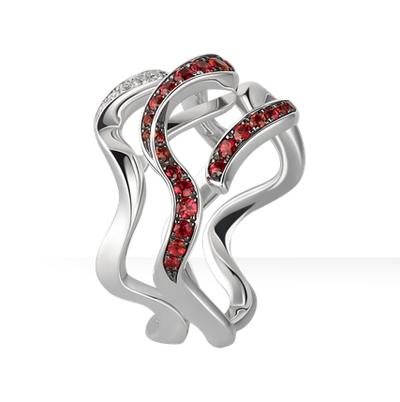 谢瑞麟-丝舞钻石戒指