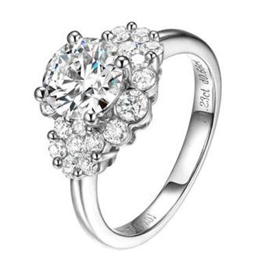爱唯一钻石戒指