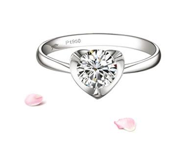 缘与美—铂金钻石婚戒