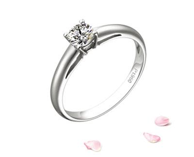 缘与美—铂金钻石戒指