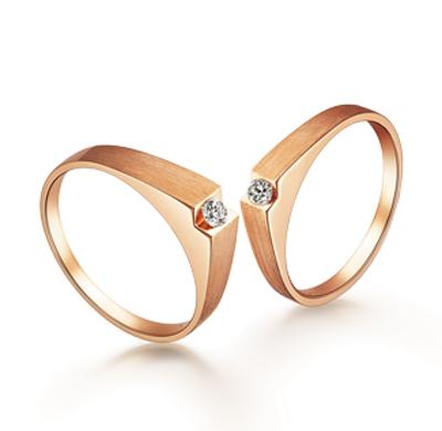 我们的爱K金戒指