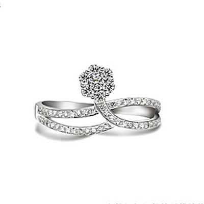 柔婉钻石戒指