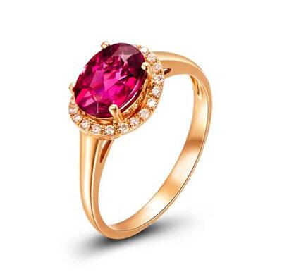 吉盟珠宝-玫瑰金镶嵌